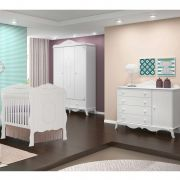 Quarto Infantil Completo Canaã Realeza com Cômoda Realeza 1 Porta
