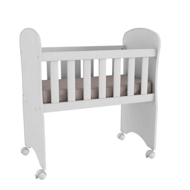 Mini Berço Kids Baby com Colchão Incluso